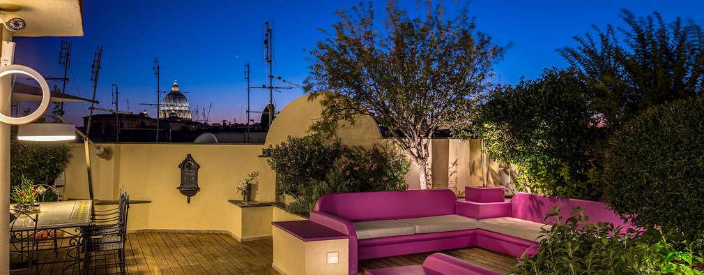 8 idee per un terrazzo all 39 italiana - Idee per chiudere un terrazzo ...