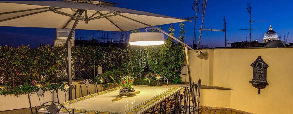 Idee per il terrazzo terrazzo moderno idee per arredare for Tavolini per terrazzo