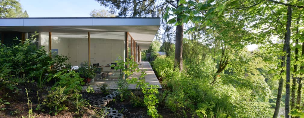 eclectic Garden by NO Architecture