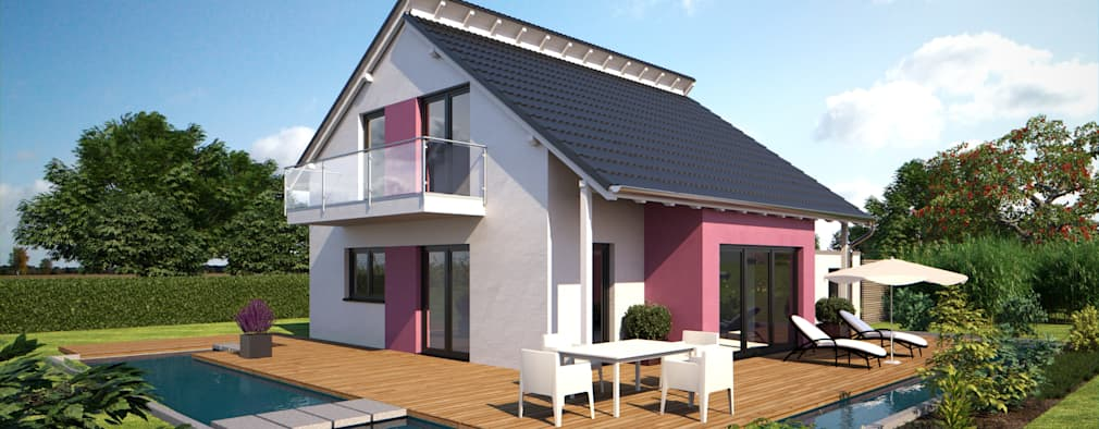 5 zeitlose fertigh user f r moderne familien. Black Bedroom Furniture Sets. Home Design Ideas