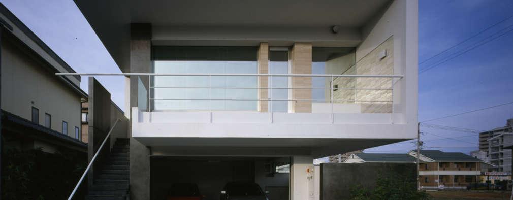 久留米の家: 森裕建築設計事務所が手掛けた家です。
