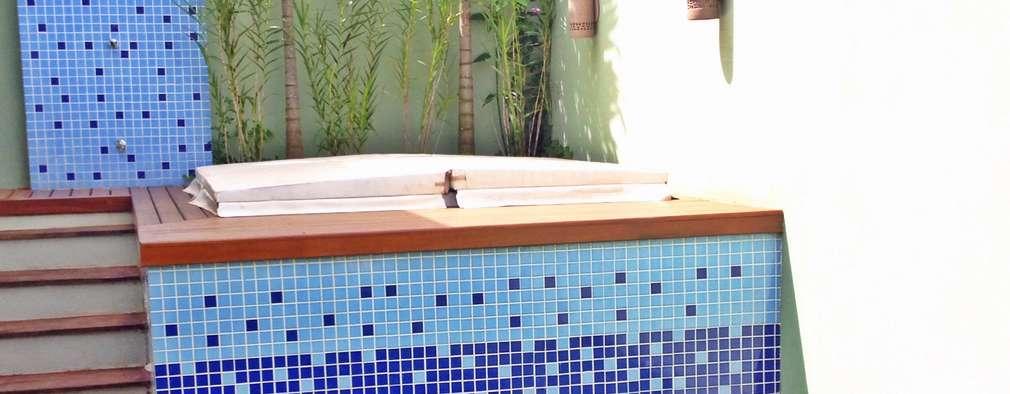 10 ideas para hacer un peque o jacuzzi en tu patiecito for Jardines pequenos esquineros