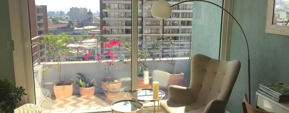 Salas de estilo moderno por Studio Barla