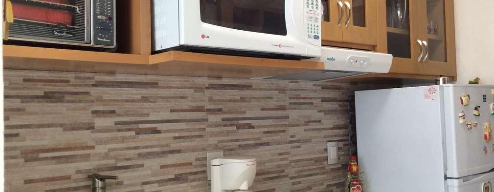 Para colocar o micro ondas veja estes 11 m veis de cozinha for Repisa para microondas