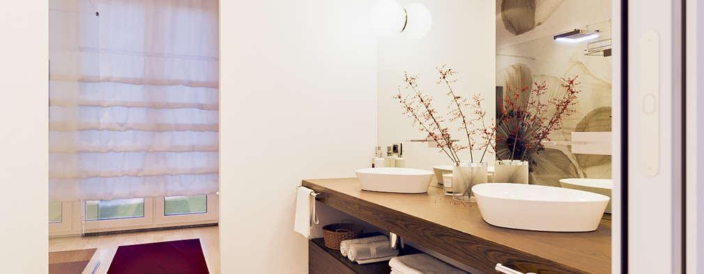 Banheiros modernos por Annalisa Carli