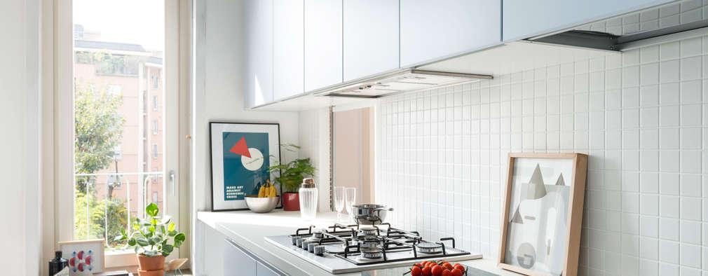 Projekty,  Kuchnia zaprojektowane przez studio wok