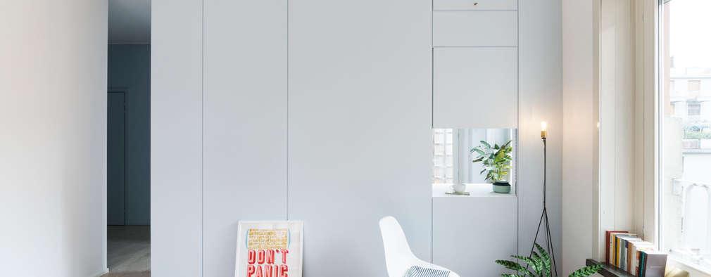 moderne Woonkamer door studio wok