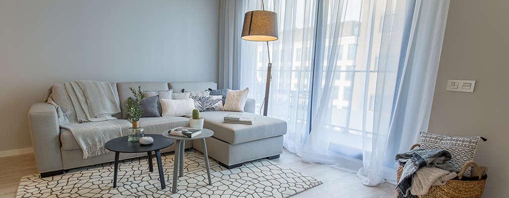 غرفة المعيشة تنفيذ Pia Estudi