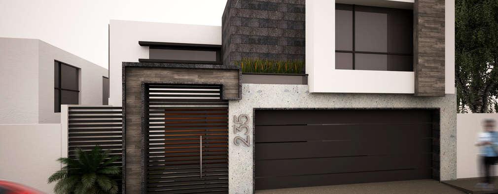 7 modelos de rejas seguras y elegantes para tu fachada for Puertas para casas minimalistas