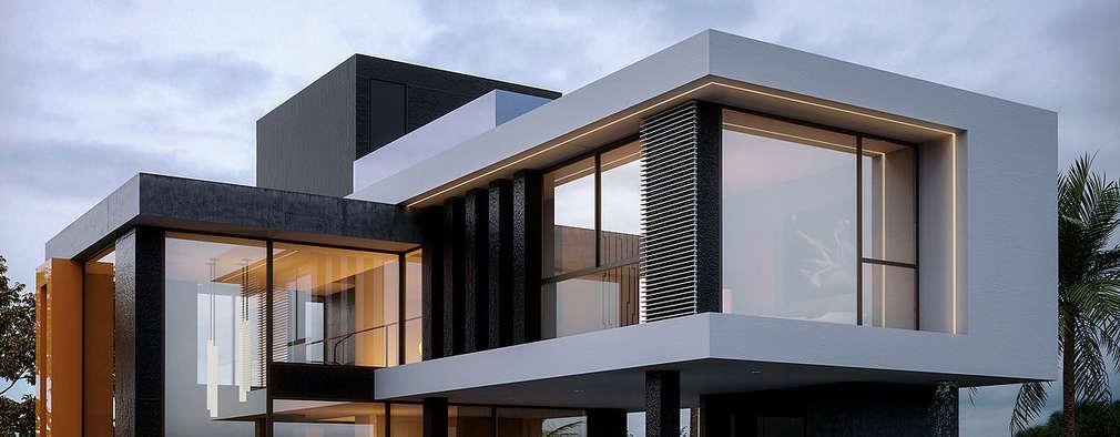 Suficiente Platibanda ou telhado: 7 lindas fachadas para te ajudar nesta decisão! PJ46