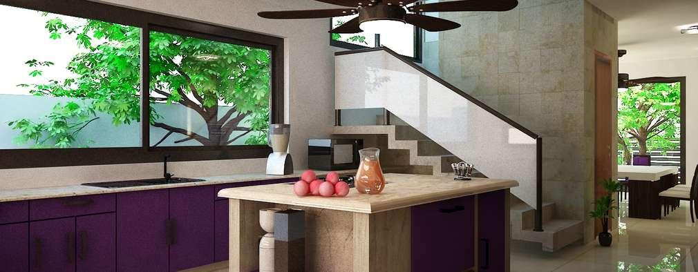 10 ideas para decorar tu cocina con color y sabor