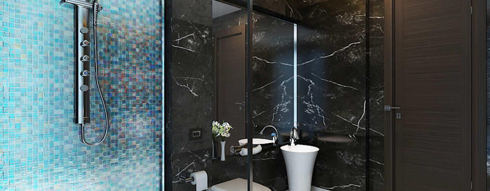 Modern Bathroom By Koncept Architects U0026 Interior Designers,