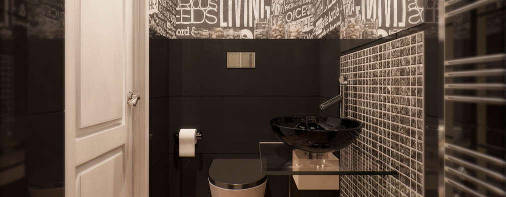 industrial Bathroom by Anastasia Yakovleva design studio