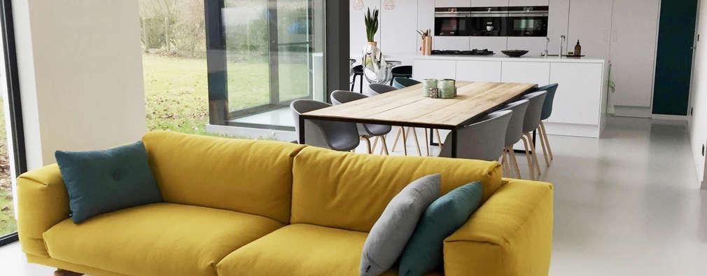Minimalistische Wohnzimmer Von Niko Wauters Architecten Bvba