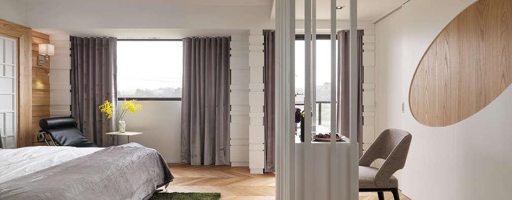 공간 절약형 침실 아이디어 12