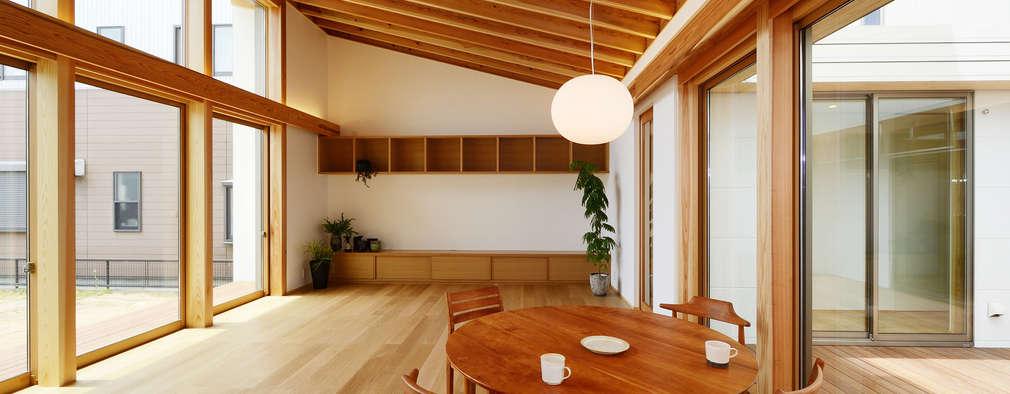 modern Living room by スタジオグラッペリ 1級建築士事務所 / studio grappelli architecture office