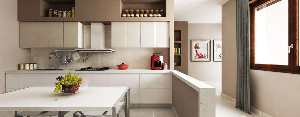9 Idee per Rivestire la Parete della Cucina