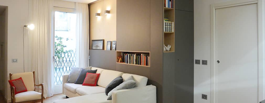 Salas de estar modernas por studiovert