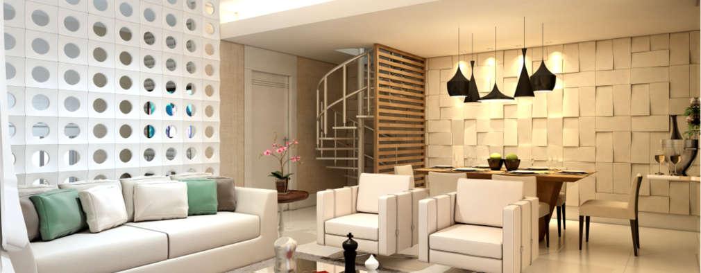 modern Living room by Estúdio DG Arquitetura