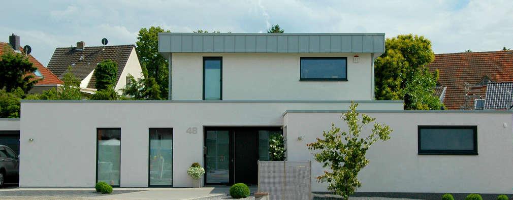 Bauhaus P1: moderne Häuser von Carsten Krafft Die Architektur