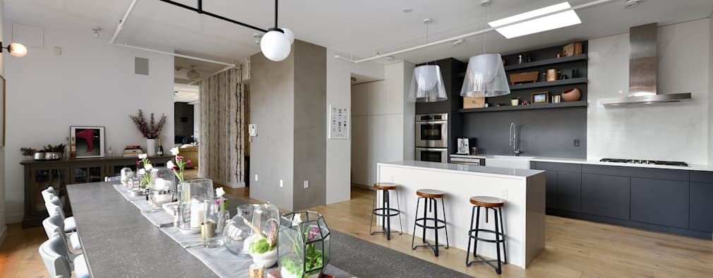 Renovation at 7 Wooster: modern Kitchen by KBR Design and Build