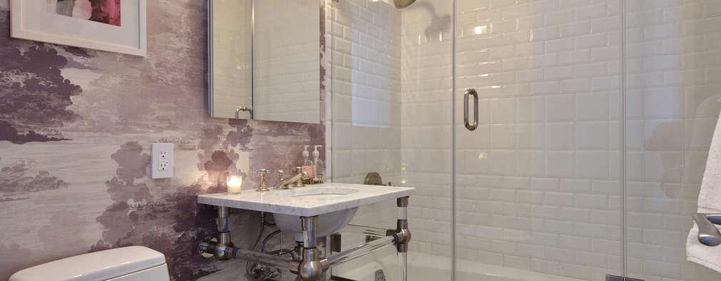 Renovation at 7 Wooster: modern Bathroom by KBR Design and Build