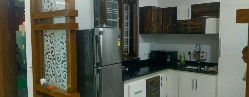 Cocinas de estilo moderno por Dream Homes Architect