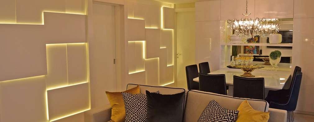 Livings de estilo moderno por DecaZa Design