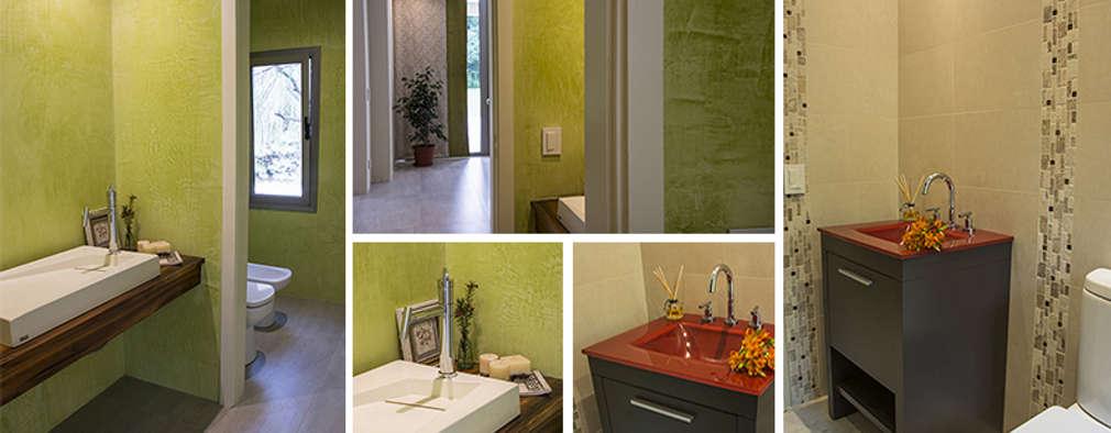 Colores para ba os peque os materiales y tendencias for Materiales para banos
