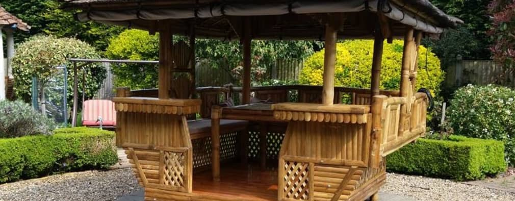 Gazebos:   by Garden Furniture Centre