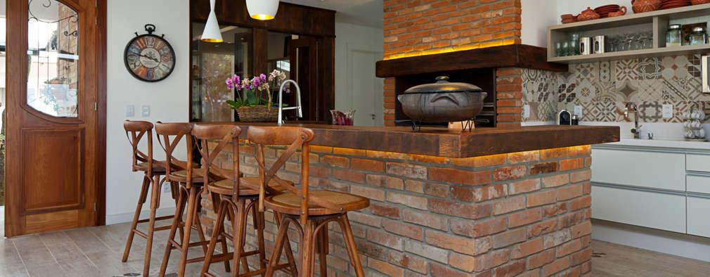 Cocinas de ladrillo una elecci n fant stica para tu hogar - Cocina de ladrillo ...