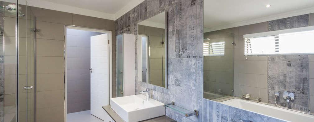modern Bathroom by Flaneur Architects