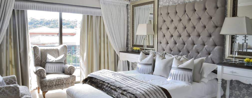Grey Scale Luxury: Classic Bedroom By Carne Interiors