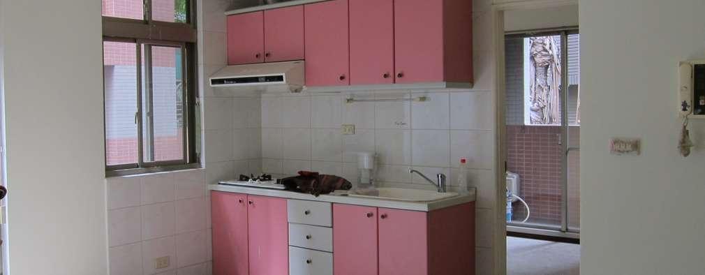 Cocinas de estilo rural por 以恩設計