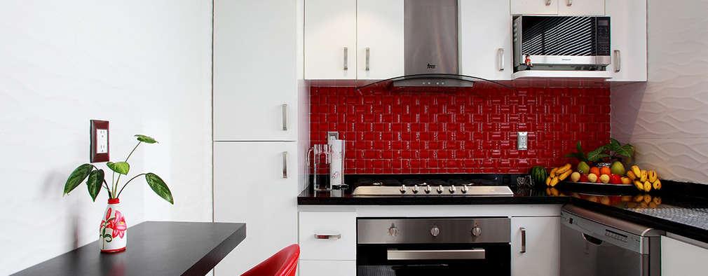 Cocinas de estilo ecléctico por All Arquitectura