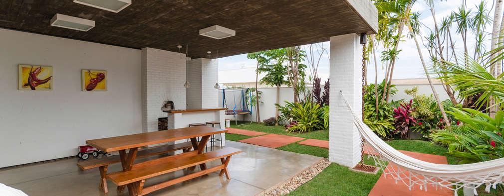 9 patios techados que te inspirar n - Techados para terrazas ...
