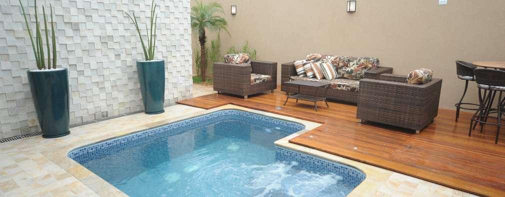 14 mejores ideas de piscinas peque as en casa for Piscinas para casas pequenas