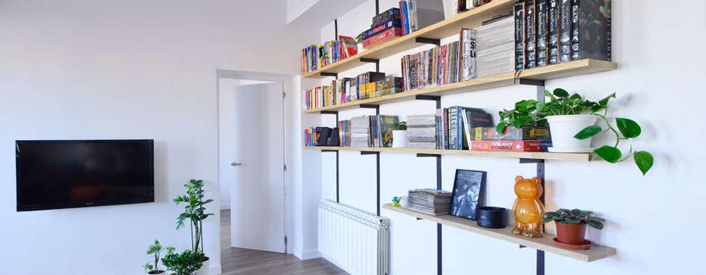 غرفة المعيشة تنفيذ Ondo Interiorismo