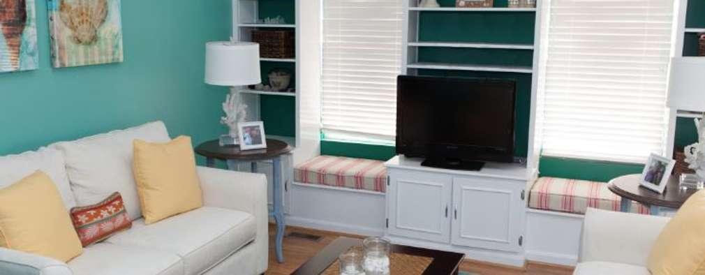Range of interiors : classic Living room by Lux Design Associates