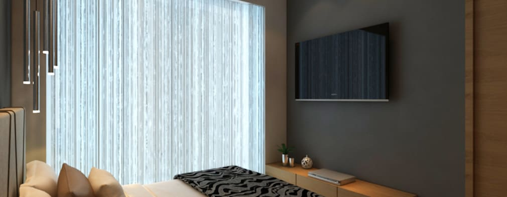 INTERIOR: modern Bedroom by Midas Dezign