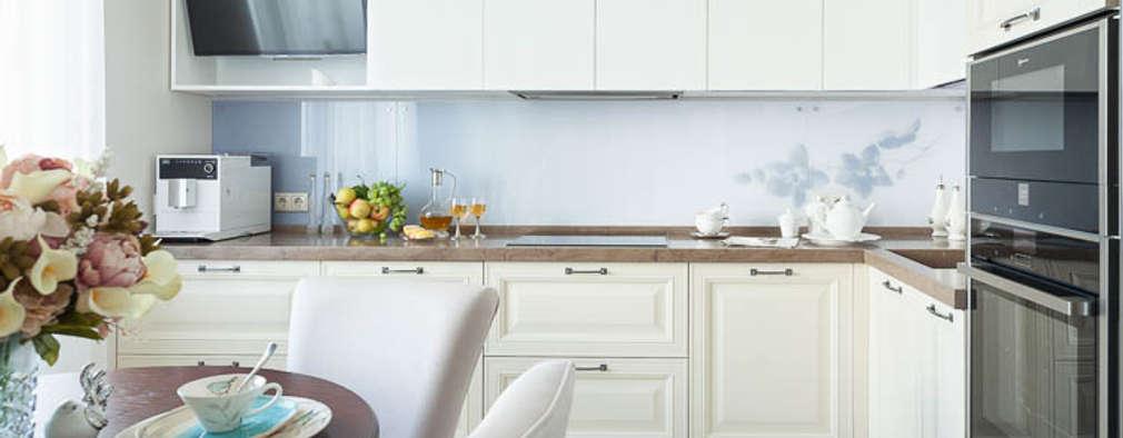 Светлая и уютная квартира для души: Кухни в . Автор – Pegasova design
