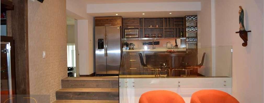 minimalistic Living room by OR Arquitectura y Construcción