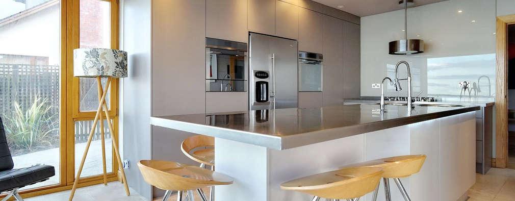 cocinas de estilo moderno de adornas kitchens