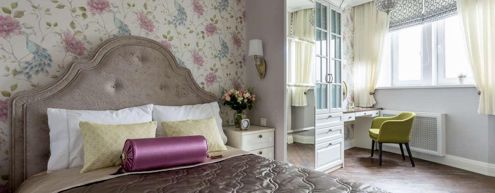 Спальня: Спальни в . Автор – N-HOME | Ната Хатисашвили