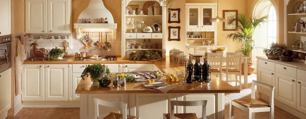 10 cucine country chic che ti faranno venire voglia di for Arredamento cucina country