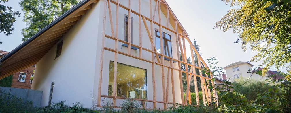 Modern wonen achter een bijzondere gevel for Korb architekten