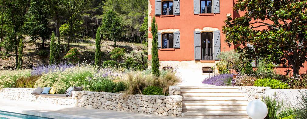La d couverte d 39 un jardin m diterran en pr s d 39 aix en - Jardin autour de la piscine aixen provence ...