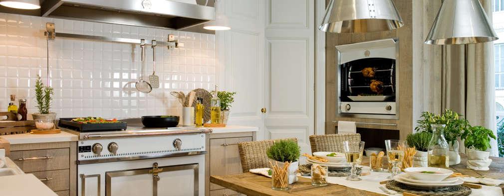 Cuisine de style de style Rustique par DEULONDER arquitectura domestica