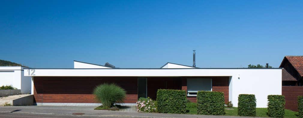 Une maison de famille minimaliste et l gante for Une maison minimaliste