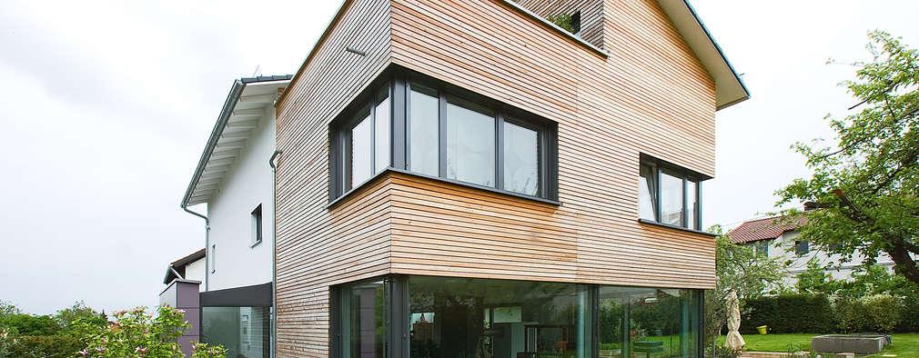 modern Houses by Gaus & Knödler Architekten